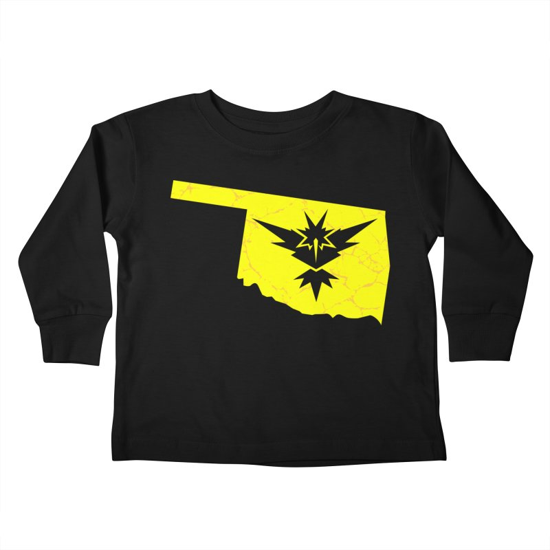 Pokemon Go Oklahoma - Team Instinct Kids Toddler Longsleeve T-Shirt by OKgamers's Shop