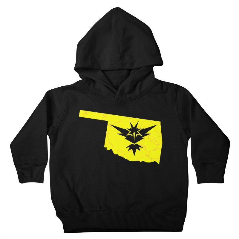 Pokemon Go Oklahoma - Team Instinct Kids Toddler Pullover Hoody by OKgamers's Shop