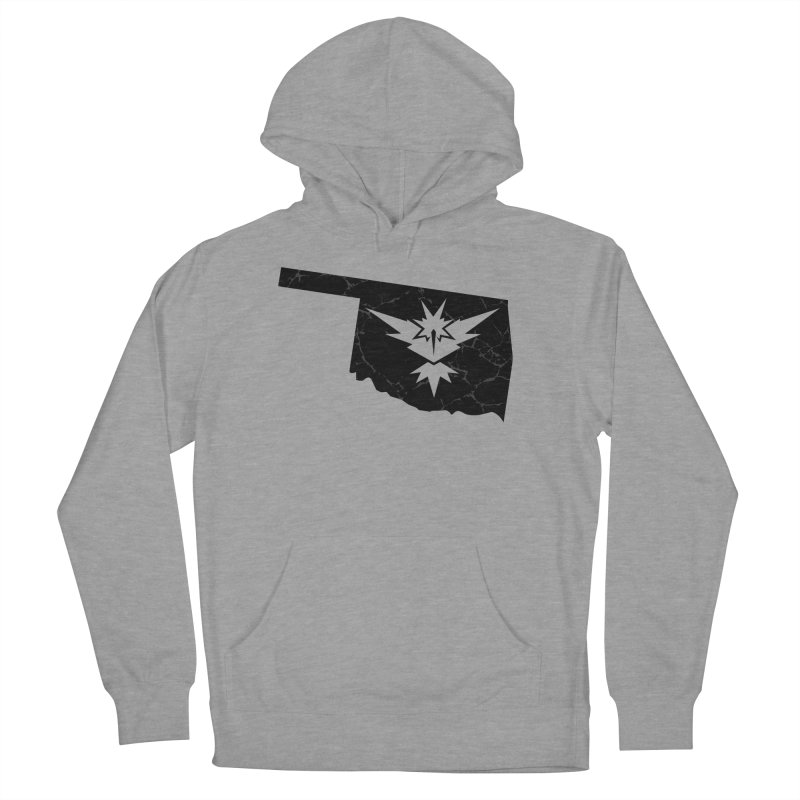 Pokemon Go Oklahoma - Team Instinct (Black) Men's Pullover Hoody by OKgamers's Shop