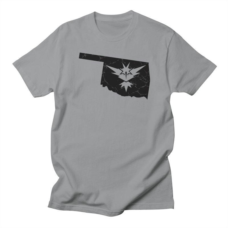 Pokemon Go Oklahoma - Team Instinct (Black) Men's T-shirt by OKgamers's Shop