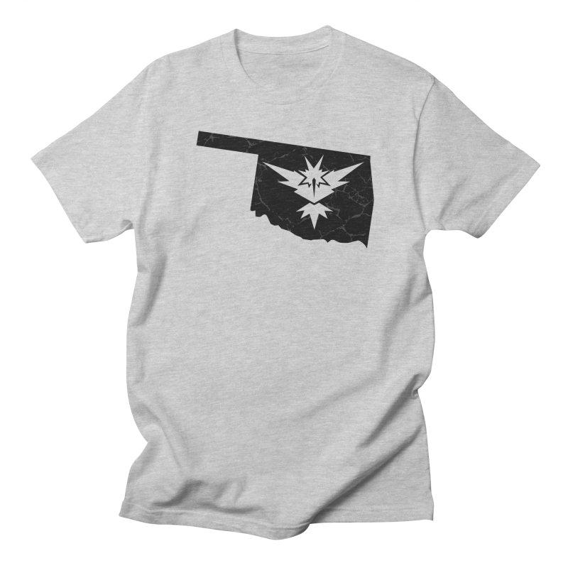 Pokemon Go Oklahoma - Team Instinct (Black) Men's T-Shirt by Oklahoma Gamers' Shop