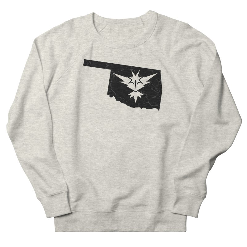 Pokemon Go Oklahoma - Team Instinct (Black) Women's French Terry Sweatshirt by OKgamers's Shop