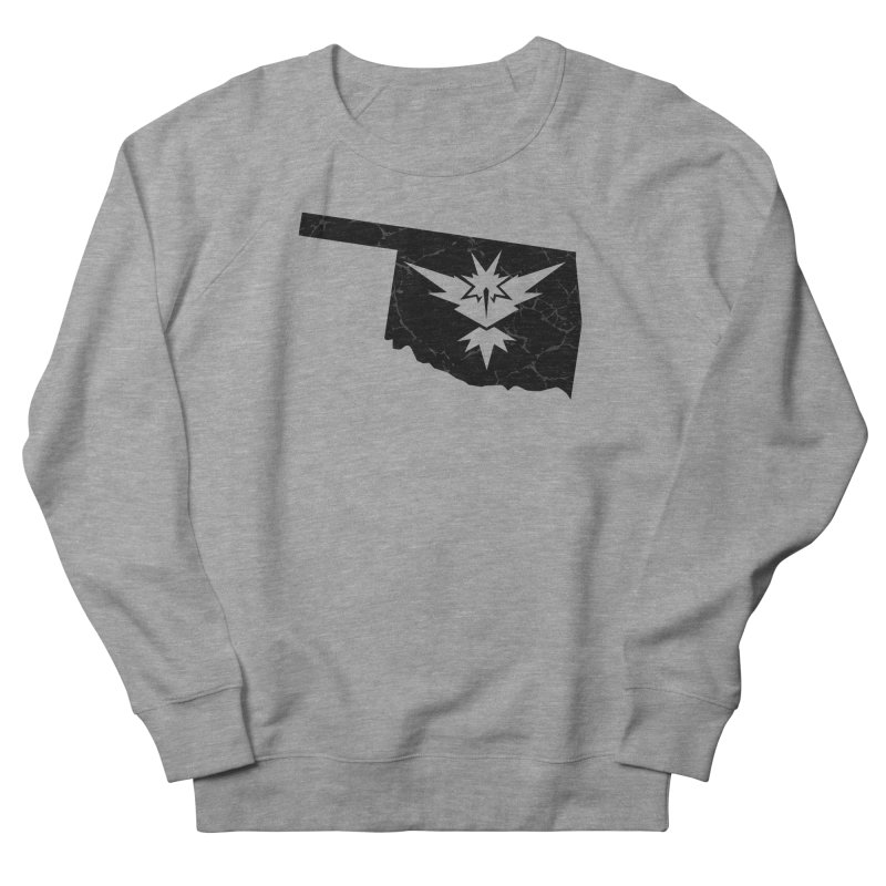 Pokemon Go Oklahoma - Team Instinct (Black) Men's Sweatshirt by OKgamers's Shop