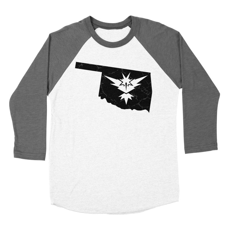 Pokemon Go Oklahoma - Team Instinct (Black) Women's Baseball Triblend Longsleeve T-Shirt by Oklahoma Gamers' Shop
