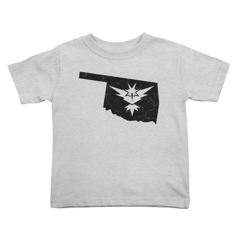 Pokemon Go Oklahoma - Team Instinct (Black) Kids Toddler T-Shirt by OKgamers's Shop