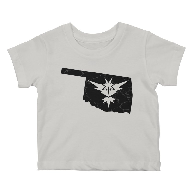 Pokemon Go Oklahoma - Team Instinct (Black) Kids Baby T-Shirt by OKgamers's Shop
