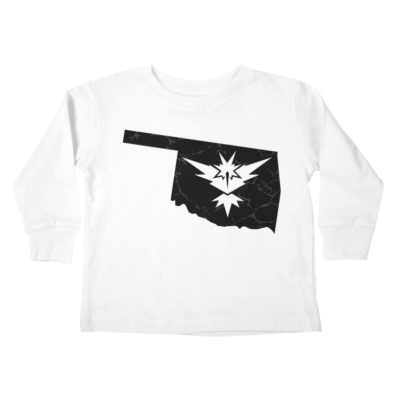 Pokemon Go Oklahoma - Team Instinct (Black) Kids Toddler Longsleeve T-Shirt by OKgamers's Shop