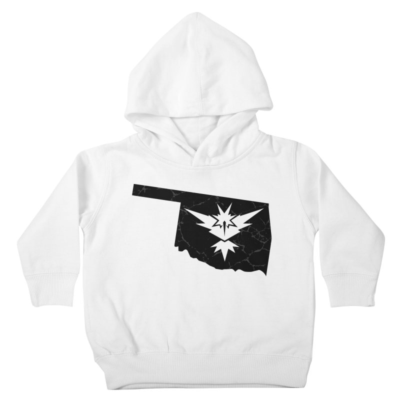Pokemon Go Oklahoma - Team Instinct (Black) Kids Toddler Pullover Hoody by OKgamers's Shop