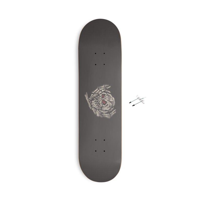 vertigooo Accessories With Hanging Hardware Skateboard by okik's Artist Shop