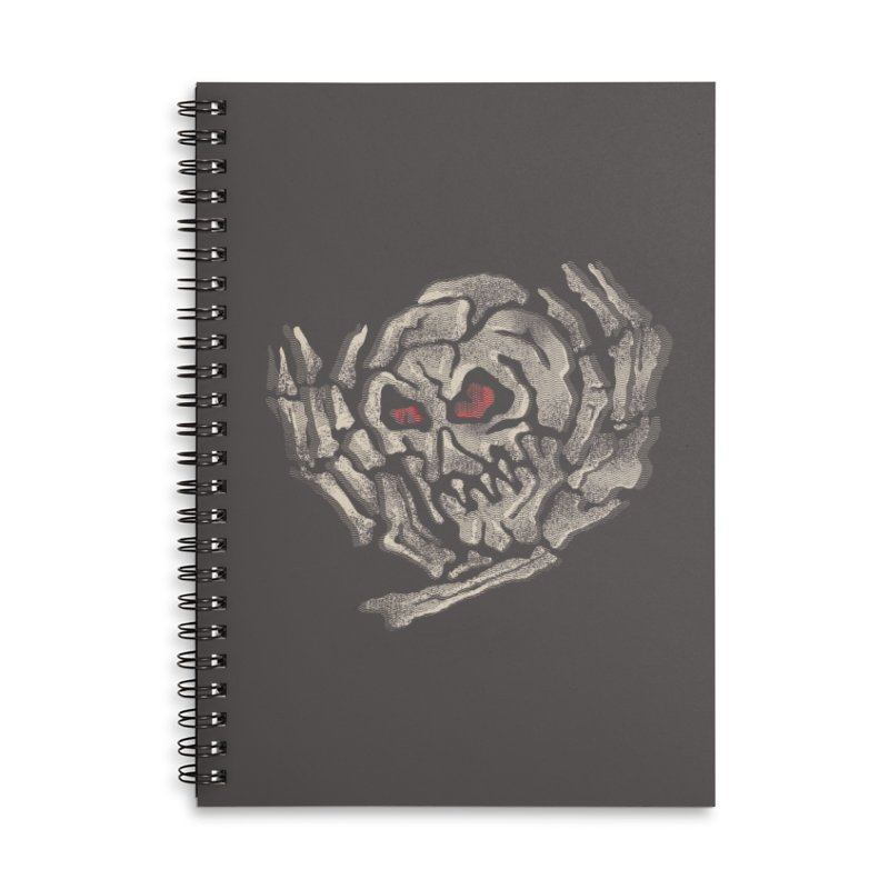 vertigooo Accessories Lined Spiral Notebook by okik's Artist Shop