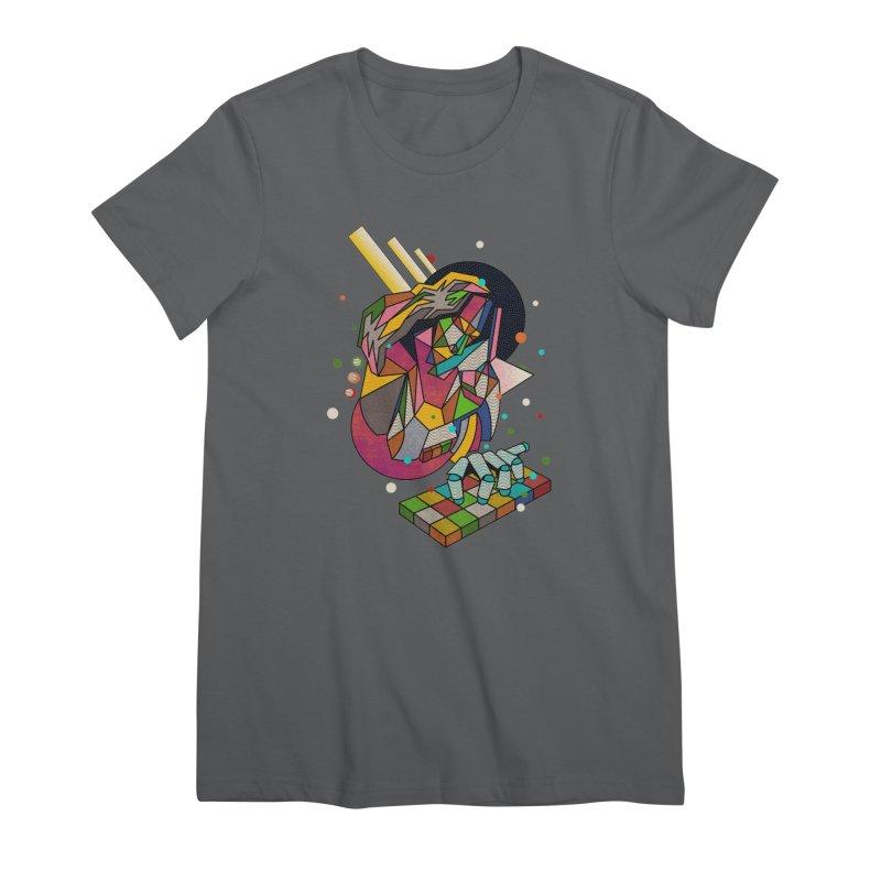 highersound Women's Premium T-Shirt by okik's Artist Shop