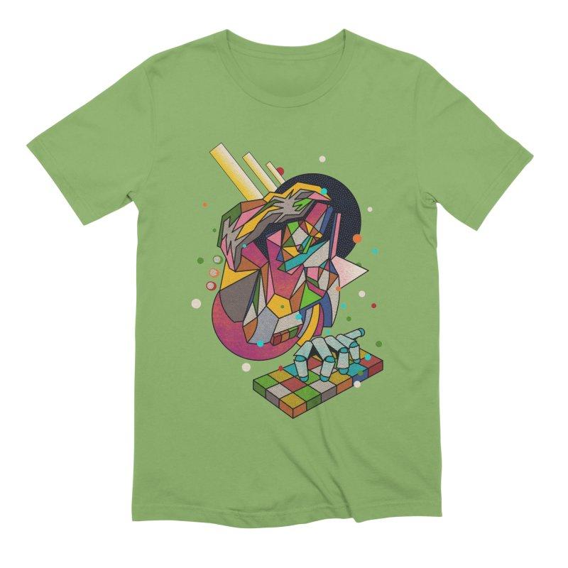 highersound Men's Extra Soft T-Shirt by okik's Artist Shop