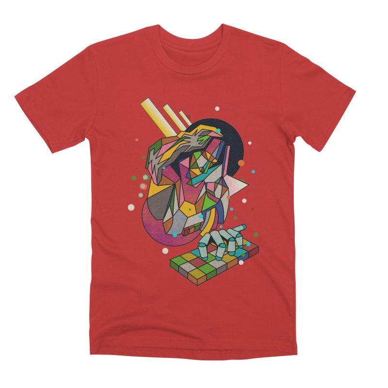 highersound Men's Premium T-Shirt by okik's Artist Shop