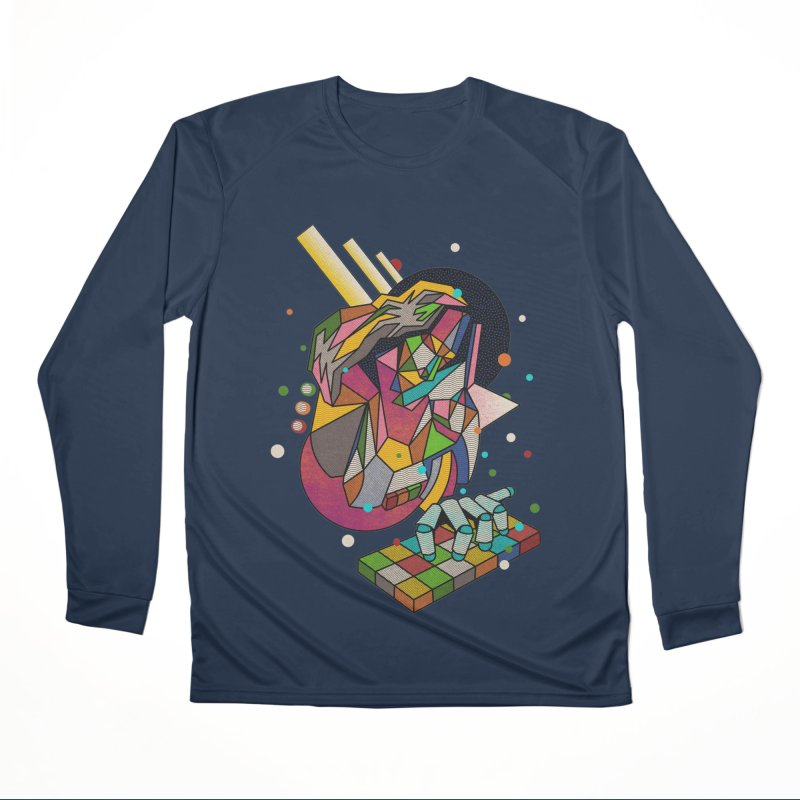 highersound Women's Performance Unisex Longsleeve T-Shirt by okik's Artist Shop