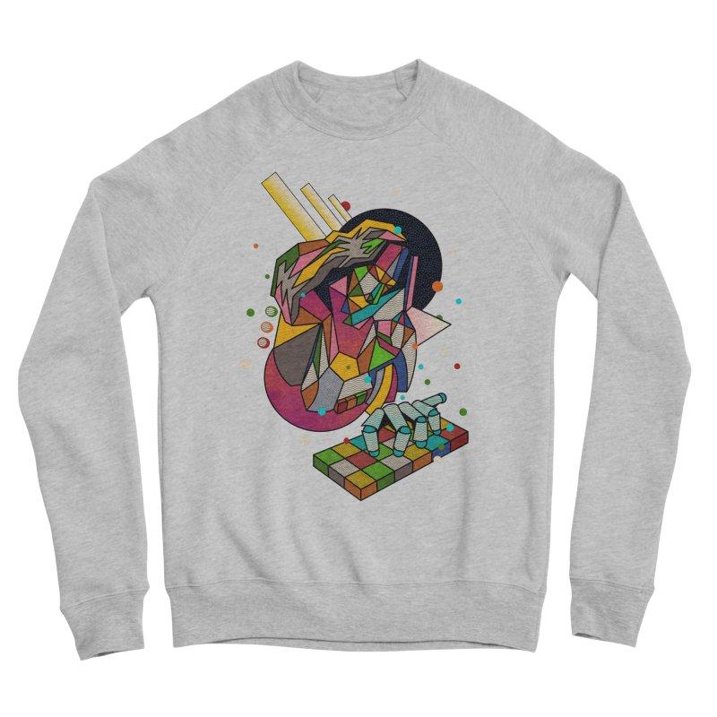 highersound Women's Sponge Fleece Sweatshirt by okik's Artist Shop