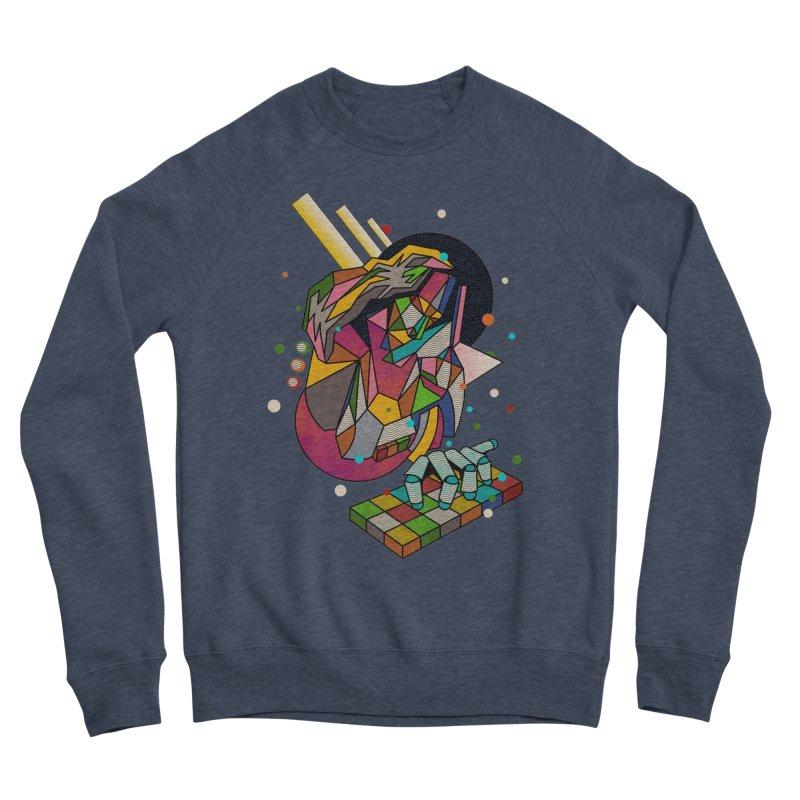 highersound Men's Sponge Fleece Sweatshirt by okik's Artist Shop