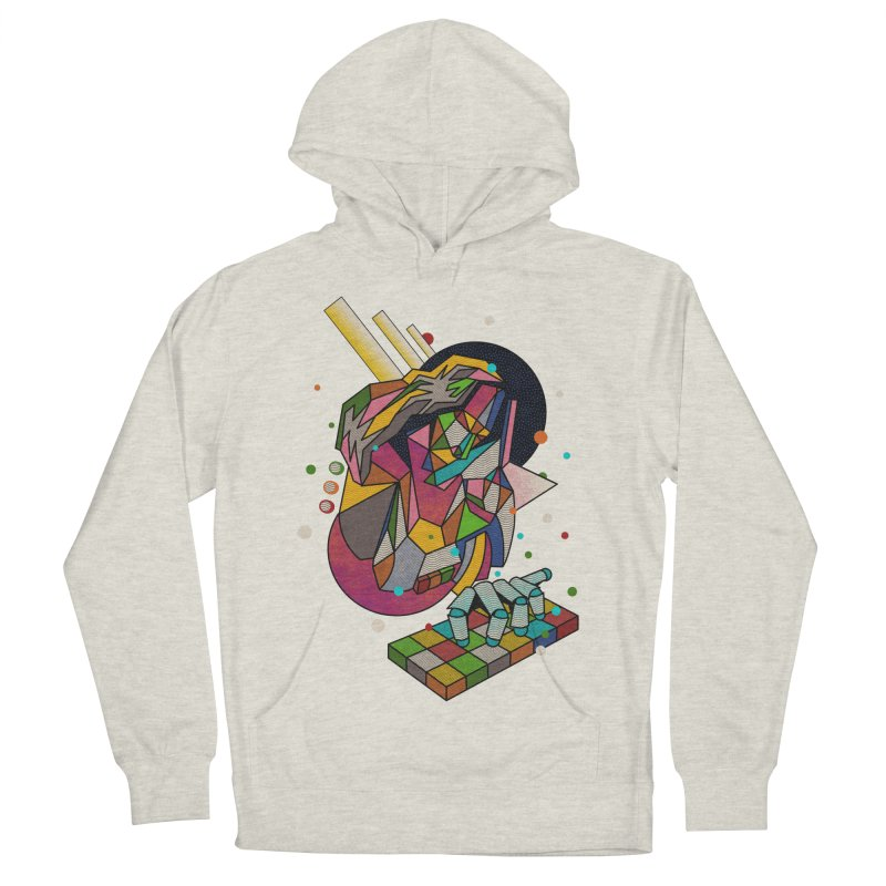 highersound Women's French Terry Pullover Hoody by okik's Artist Shop