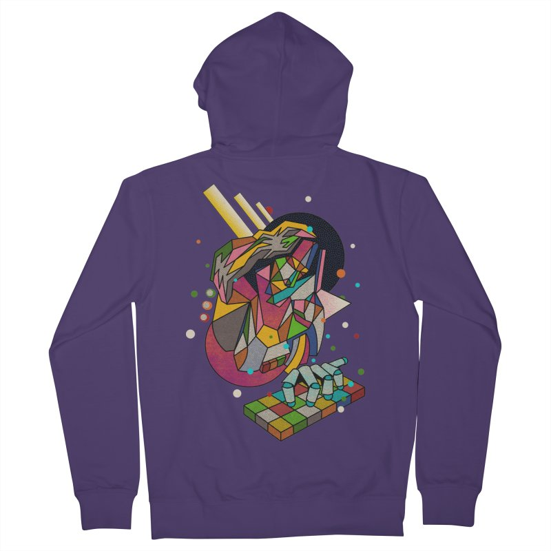 highersound Women's French Terry Zip-Up Hoody by okik's Artist Shop