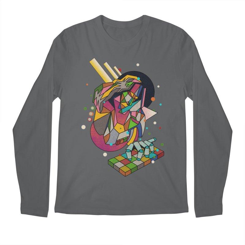 highersound Men's Longsleeve T-Shirt by okik's Artist Shop