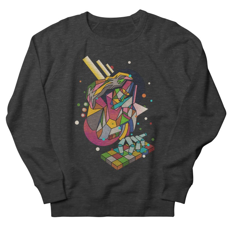 highersound Men's French Terry Sweatshirt by okik's Artist Shop
