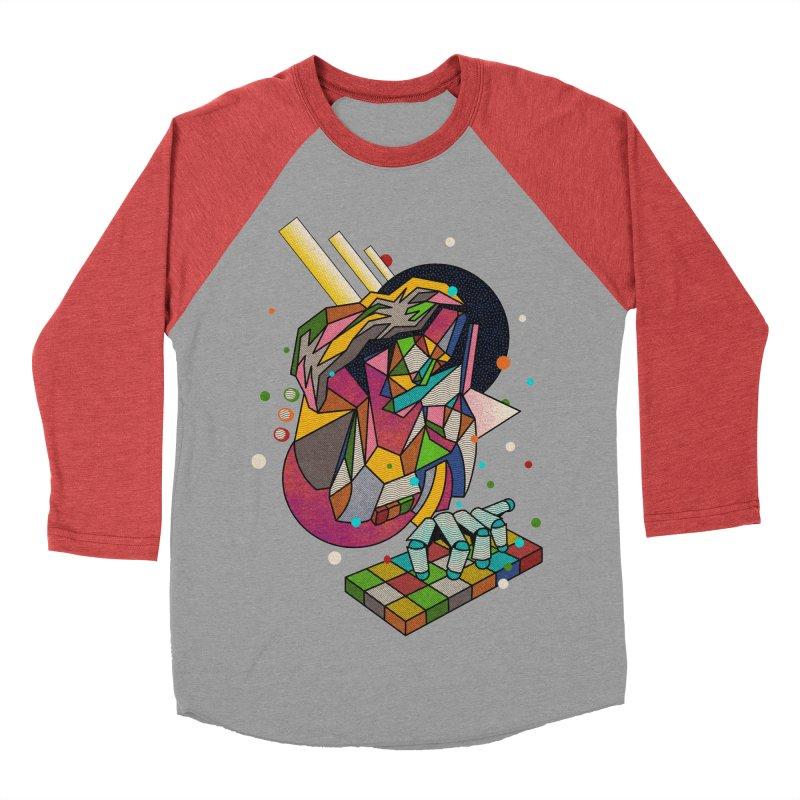 highersound Women's Baseball Triblend Longsleeve T-Shirt by okik's Artist Shop