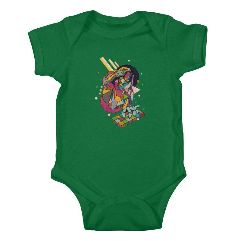 highersound Kids Baby Bodysuit by okik's Artist Shop