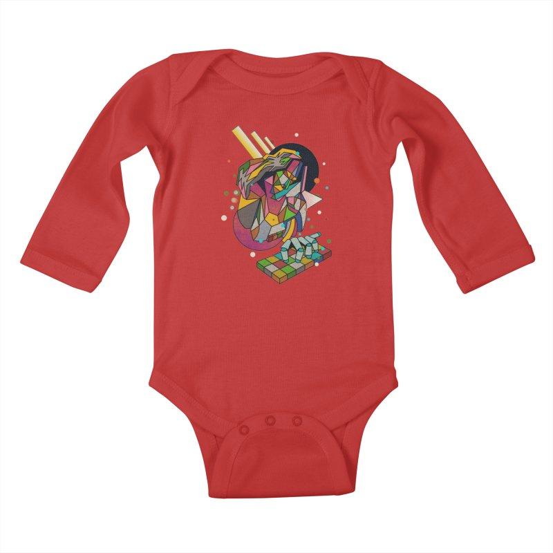 highersound Kids Baby Longsleeve Bodysuit by okik's Artist Shop