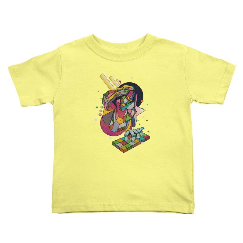 highersound Kids Toddler T-Shirt by okik's Artist Shop