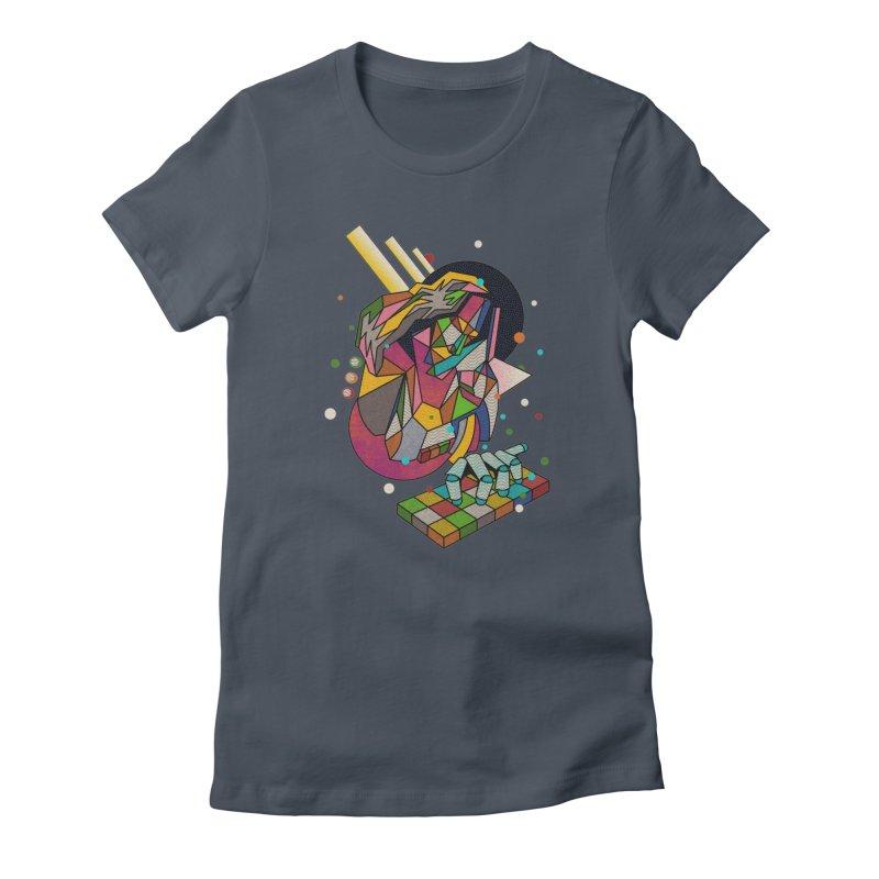 highersound Women's T-Shirt by okik's Artist Shop