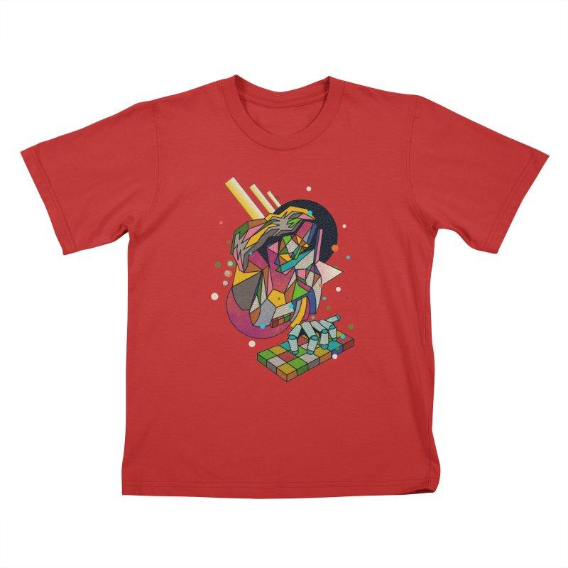 highersound Kids T-Shirt by okik's Artist Shop