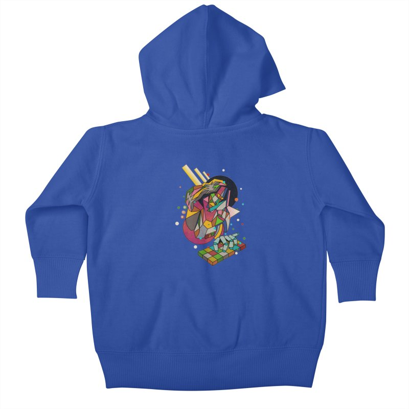 highersound Kids Baby Zip-Up Hoody by okik's Artist Shop