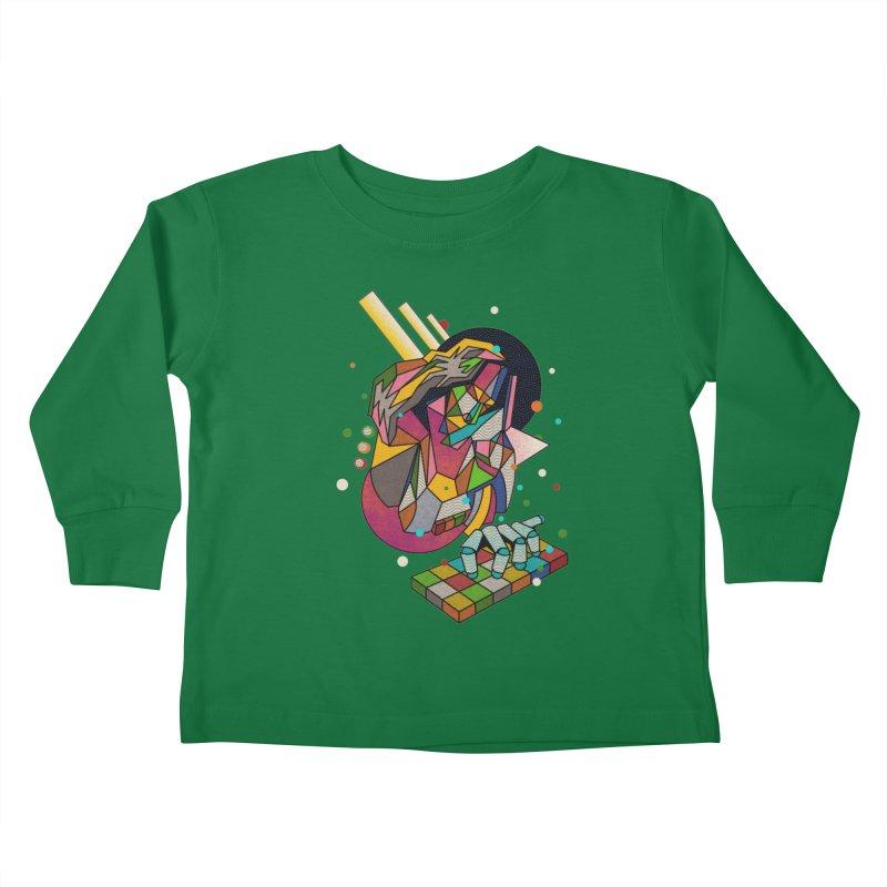highersound Kids Toddler Longsleeve T-Shirt by okik's Artist Shop