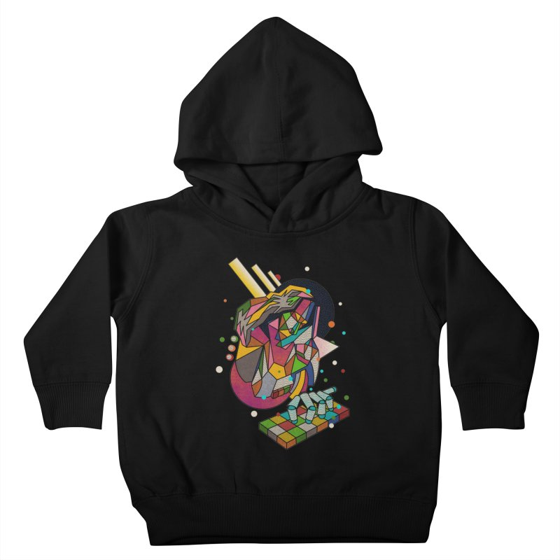 highersound Kids Toddler Pullover Hoody by okik's Artist Shop