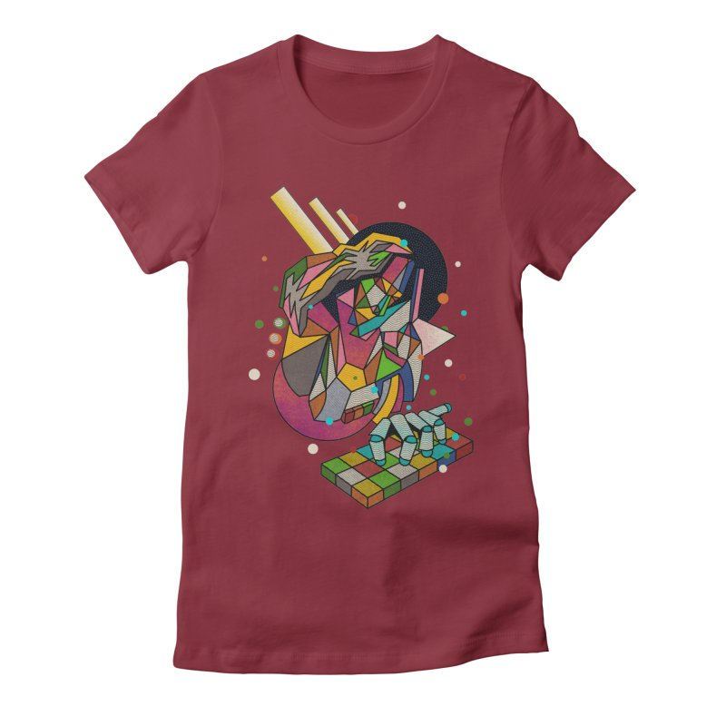 highersound Women's Fitted T-Shirt by okik's Artist Shop