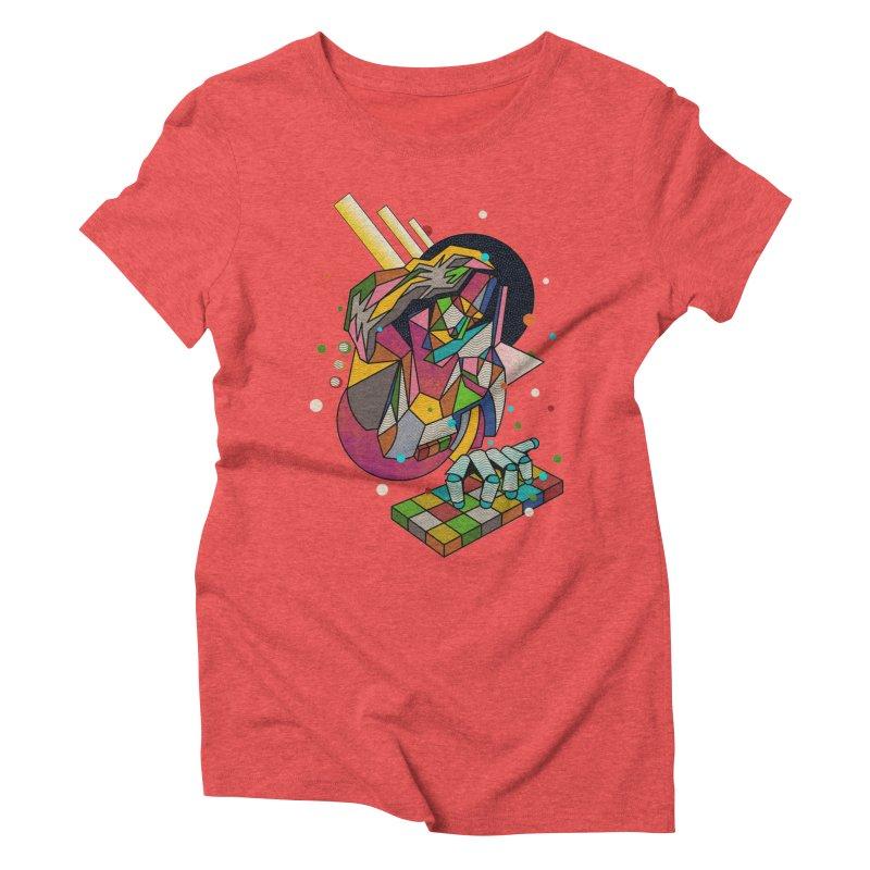 highersound Women's Triblend T-Shirt by okik's Artist Shop