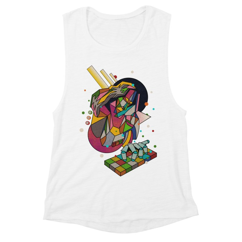 highersound Women's Muscle Tank by okik's Artist Shop