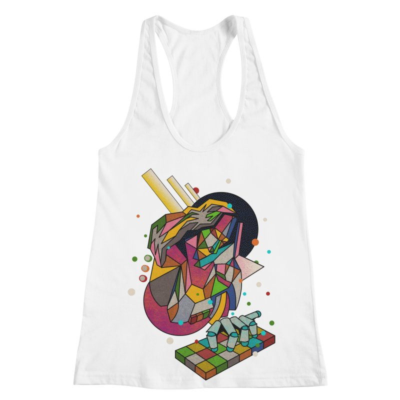 highersound Women's Racerback Tank by okik's Artist Shop