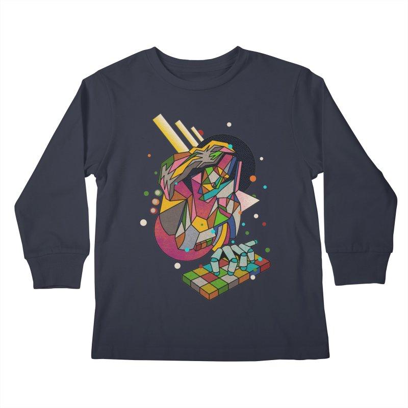 highersound Kids Longsleeve T-Shirt by okik's Artist Shop