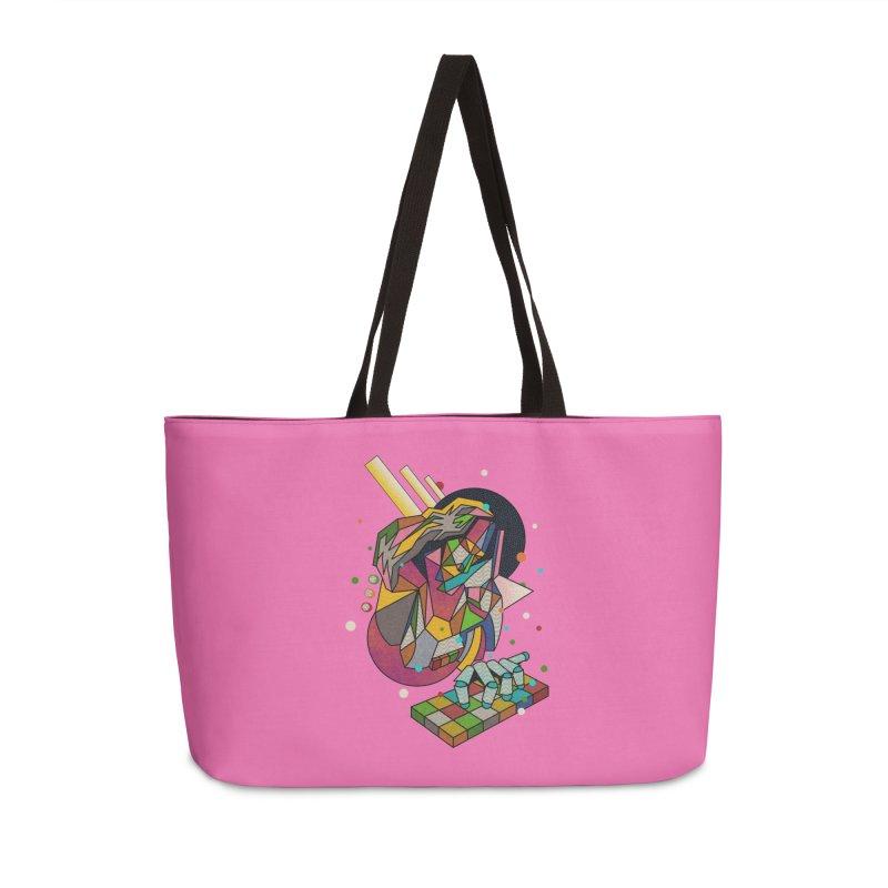 highersound Accessories Weekender Bag Bag by okik's Artist Shop