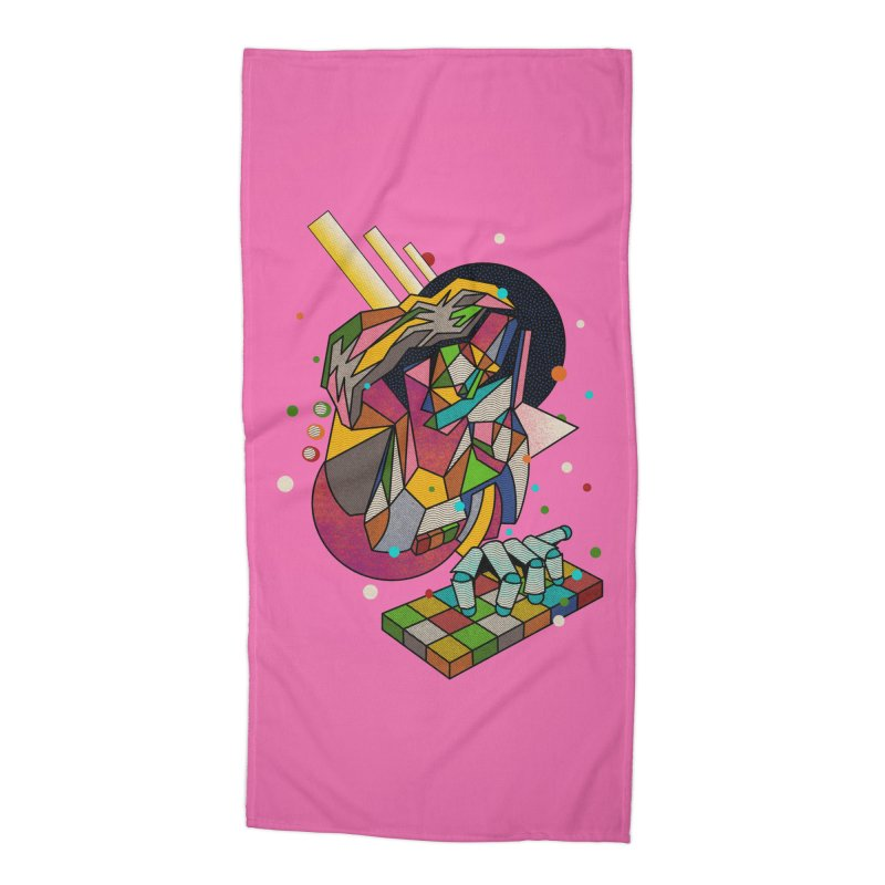 highersound Accessories Beach Towel by okik's Artist Shop