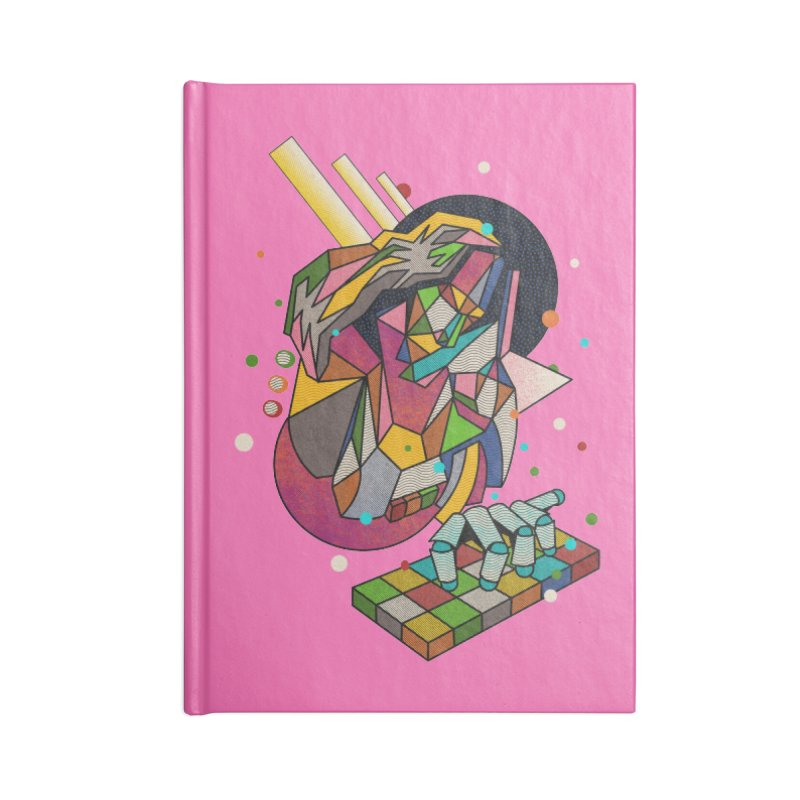 highersound Accessories Blank Journal Notebook by okik's Artist Shop