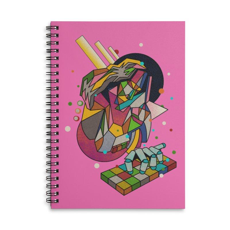 highersound Accessories Lined Spiral Notebook by okik's Artist Shop
