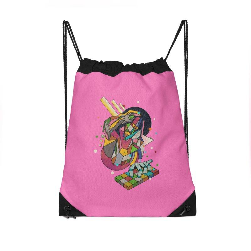 highersound Accessories Drawstring Bag Bag by okik's Artist Shop