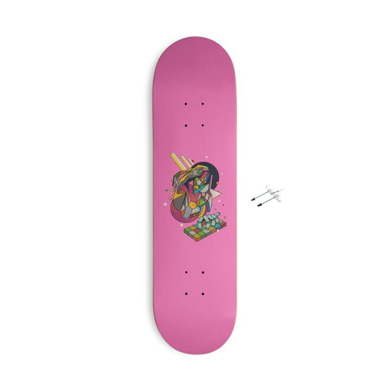 highersound Accessories With Hanging Hardware Skateboard by okik's Artist Shop