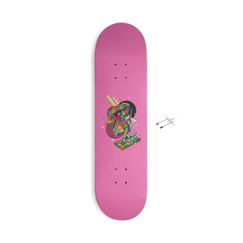 highersound Accessories Skateboard by okik's Artist Shop