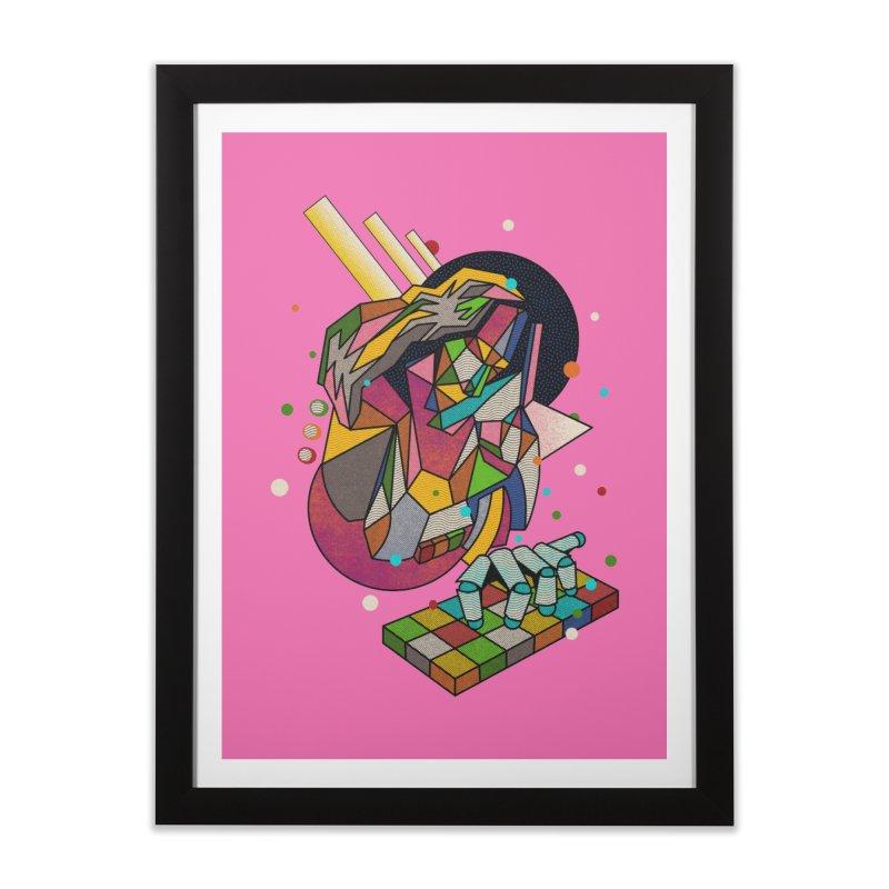 highersound Home Framed Fine Art Print by okik's Artist Shop