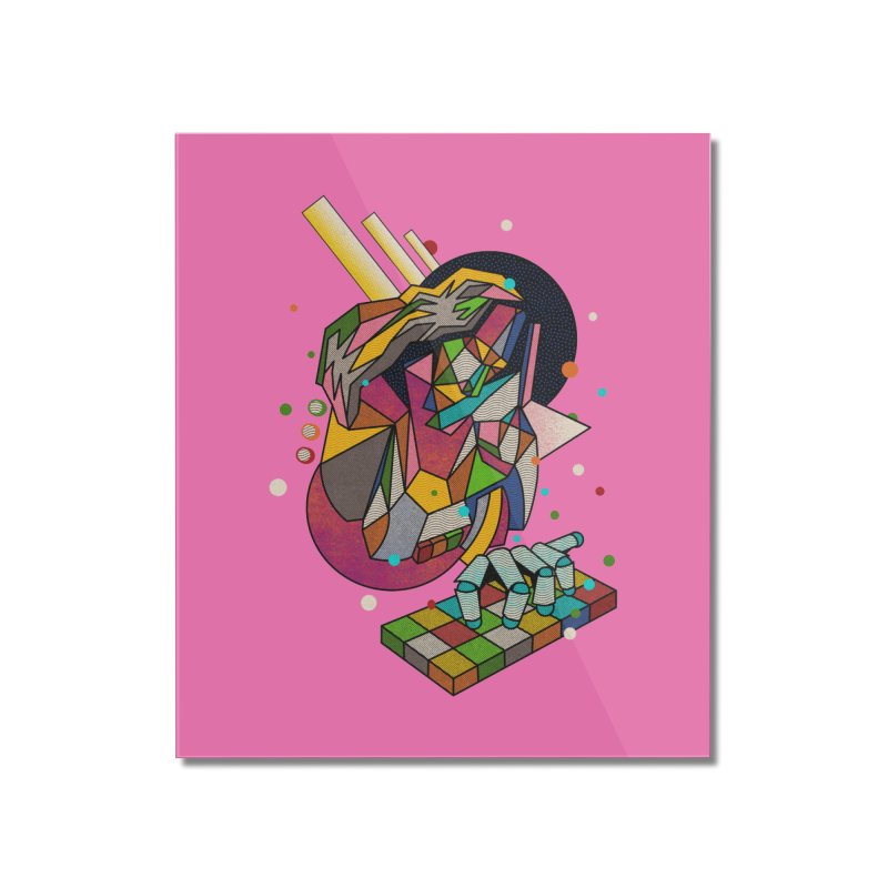 highersound Home Mounted Acrylic Print by okik's Artist Shop
