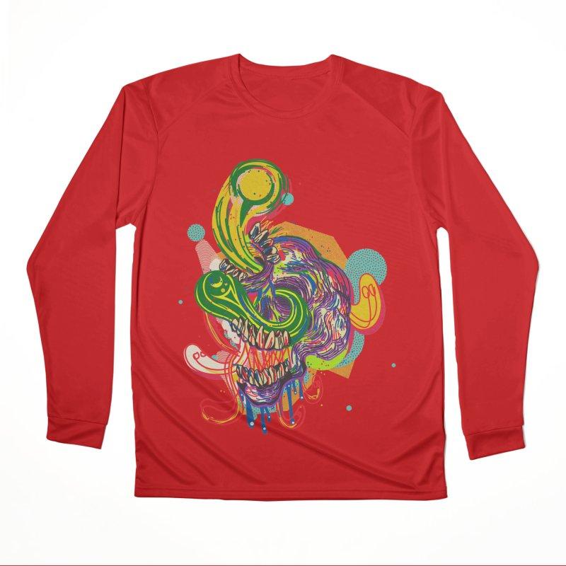 omg Men's Performance Longsleeve T-Shirt by okik's Artist Shop