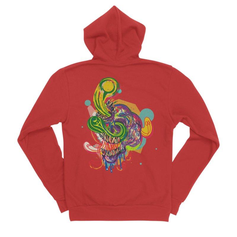 omg Men's Zip-Up Hoody by okik's Artist Shop