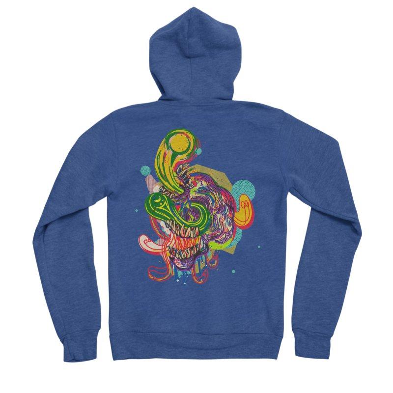 omg Men's Sponge Fleece Zip-Up Hoody by okik's Artist Shop